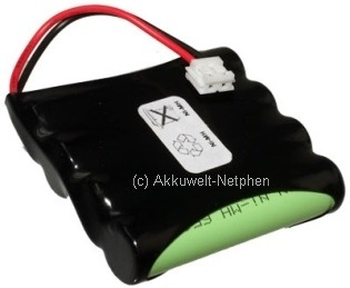 Ersatzakku für Babyphone Philips Avent SCD 468/84-R NI-MH 4,8V