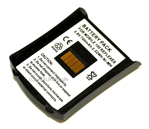 Ersatz Akku für Alcatel Mobile 100 Reflexes SN0748S 3BN 66090AAA