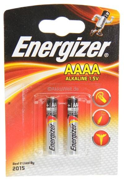 Batterie Energizer AAAA für Disetronic Freestyle Blutzuckermessger