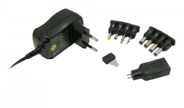 HyCell Universal-Steckernetzteil HCPS300 3V-12V 300-600mAh