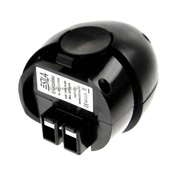 SILA Profi Ersatz Werkzeugakku Metabo PowerMaxx Powergrip2 631858 627270