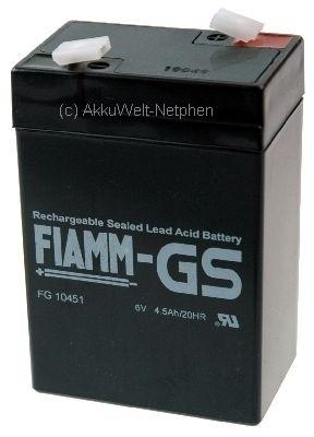 Fiamm FG10451 Lampe Staubsauger 4Ah 4,2Ah Johnlite CY-0112
