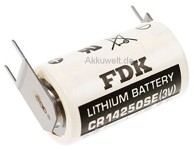 FDK Lithium Batterie CR14250SE-FT1 1/2 AA (Mignon) 3er Pri
