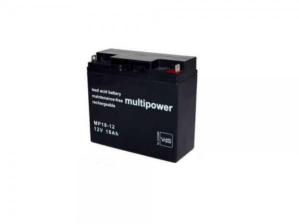 2x Multipower Bleigel-Akku für Waeco Dometic MovePower MVP 360 Move Power Mobiles Batteriepaket