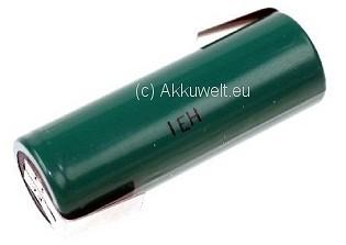 Akku FDK HR-AU Twicell A mit Z-Lötfahne Ni-MH 1,2V