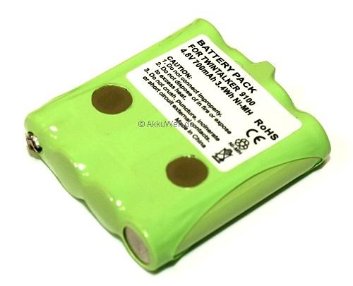 Ersatzakku für PMR Funkgerät Topcom TwinTalker 9100 TT9100