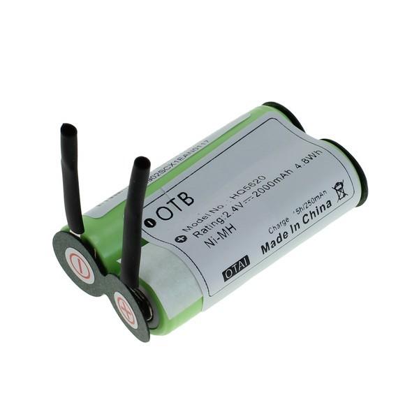 OTB Ersatz Akku für Grundig 8825 Panasonic ER150 Philips HQT789 Philips Ladyshave HP2631