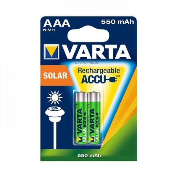 Akku Varta 56733 SOLAR Micro 56733101402 für Wetelux Solarleuchten