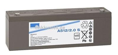 Akku Exide Dryfit A512/2S-Copy Oxiplett von Hanseatische Intermed, Medap P4020, P4030, P7020, P7030