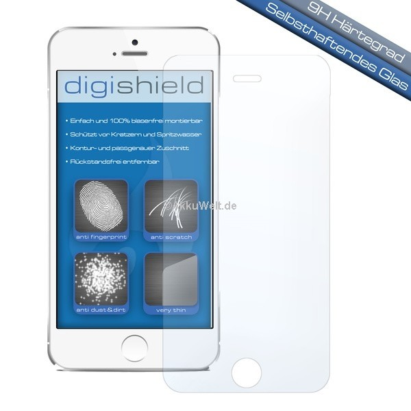 digishield Displayschutzglas für Apple iPhone 6 Plus 6S Plus