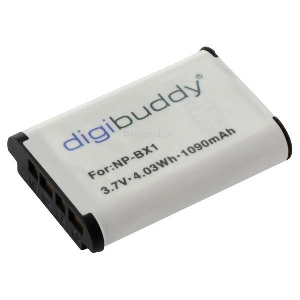 Ersatzakku für Sony NP-BX1 DSC-RX100 CyberShot NPBX1 DSCRX100 DSC-HX 400V BX1