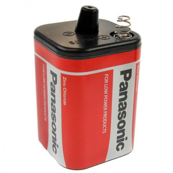 Panasonic Red Zinc 4R25 Block passend für Nissen Leuchten Spiralfederkontakt