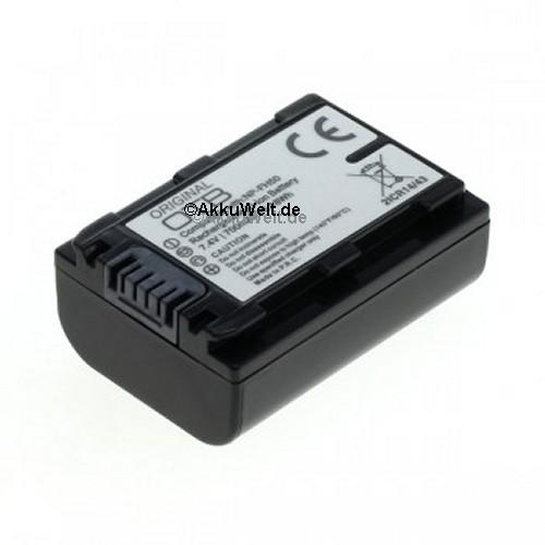 Ersatzakku für Sony NP-FH50 / NP-FP50 DSC-HX1 DSC-HX100V Alpha