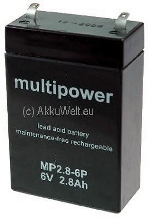 Ersatzakku für Oxypack 2 von Dräger Pulsoximeter und Monitoring N-200 von Nellcor MP2.8-6P