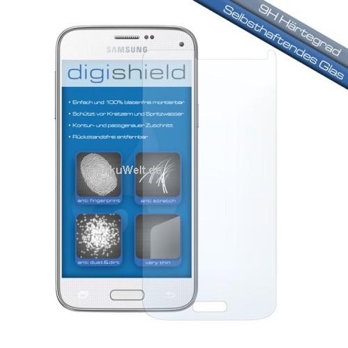 digishield Displayschutzglas für Samsung Galaxy S5 Mini SM-G800