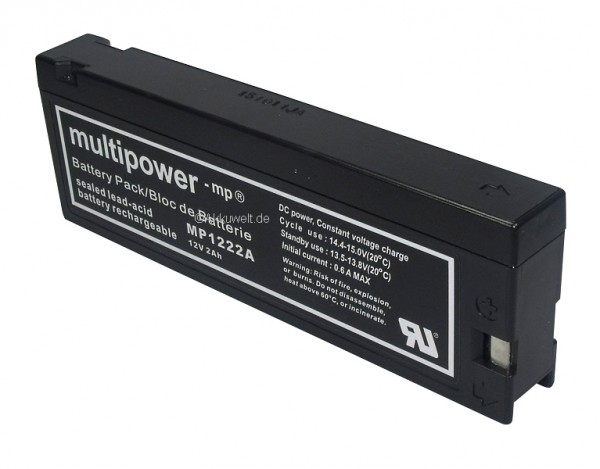 Multipower für Panasonic VW-VBM7E VW-VBM10E LC-SA122R3BG SNN4139A Motorola Internation