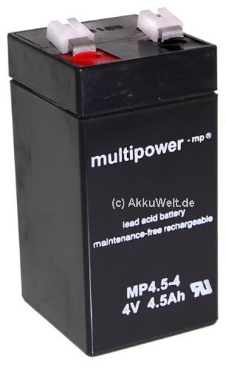 Multipower MP4.5-4 4V 4,5Ah 4500mAh