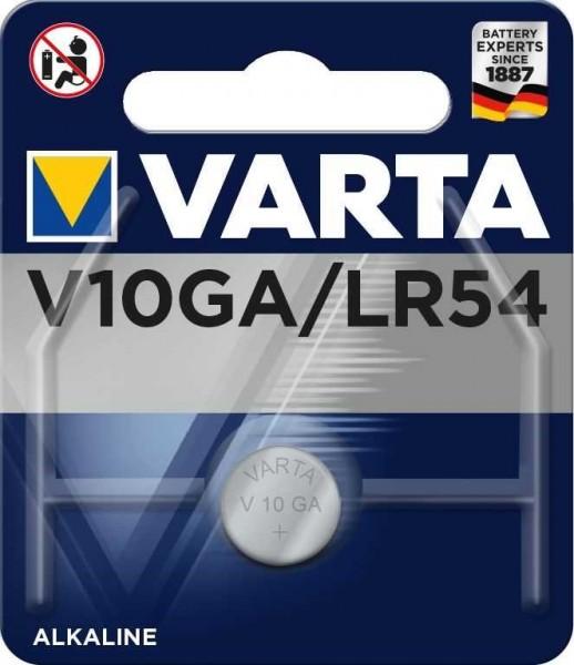 Varta V10GA LR54 V10GA LR1130 L1131H GP Rechnerbatterie GP89A