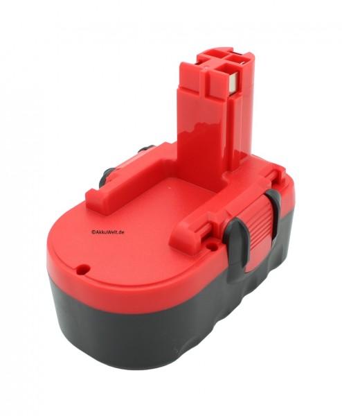 Ersatz Akku für Bosch 2607335535, 2607335536, 2610909020, BAT025, 1688K-24, 3860CRK