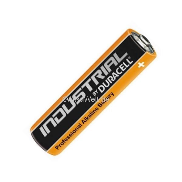 Duracell Industrial Alkaline Batterie Micro AAA LR03 MN2400 ID2400