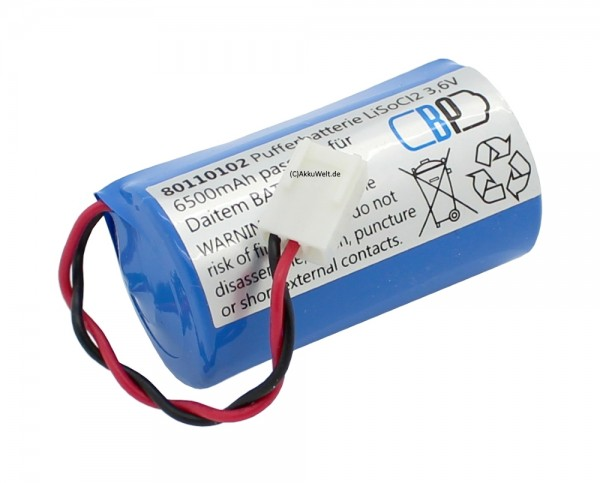 Batterie passend für Merlin Gerin 63706 Gerin BAL3 ABB Stotz S&J FAS 8900 FAS D8900