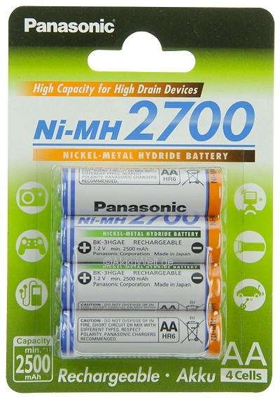 Panasonic Akkus für Fuji FinePix A100 A150 A600 A610 A700 HS10