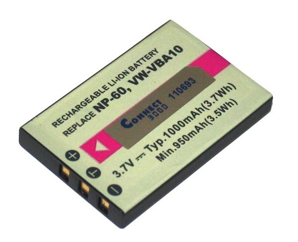 Ersatz Akku für Fuji Finepix 501 601 602 2600 A410 F501 ZOOM F10