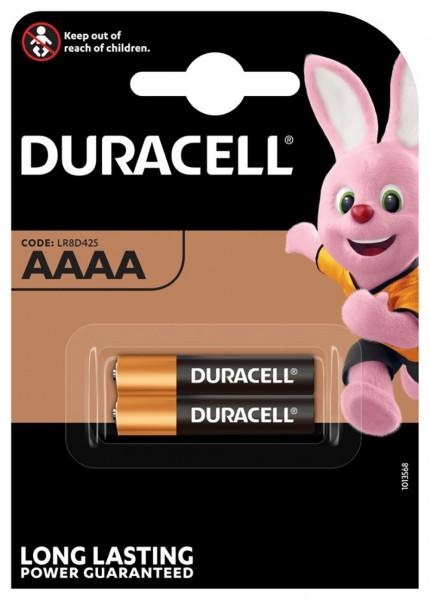 Batterie Duracell AAAA für Disetronic Freestyle Blutzuckermessger
