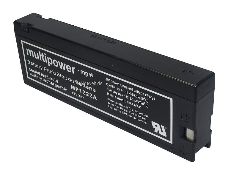 Ersatz Akku für Dinamap Compact /S/Plus Monitor SC 7000XL/9000XL extern Defib...