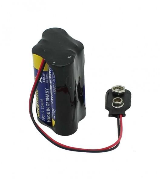 Ersatz Speicherbatterie 6V für Schliessfächer