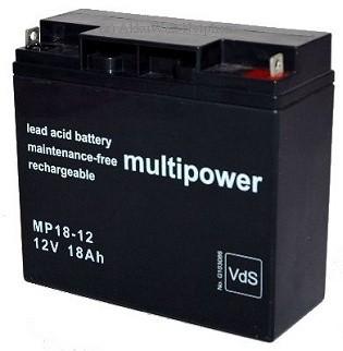 2x Multipower Bleigel-Akku für Smart UPS 1400 1500