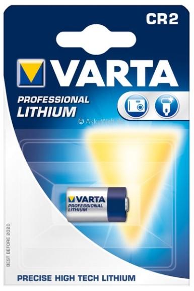 Varta Fotobatterie Professional CR2 CR-2 Lithium für Elektronische Schließzylinder Türschlösser Lock