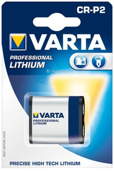 Varta Fotobatterie CR-P2 CRP2P Professional Lithium