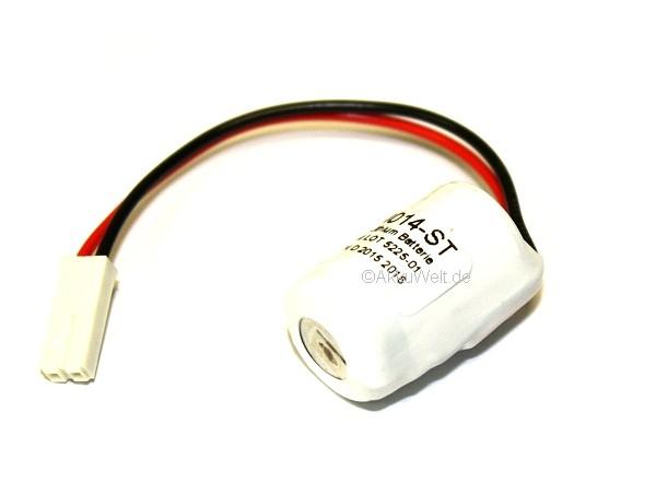 Saft Lithium Batterie LS14250 für Siemens 6ES7971-1AA00-0AA0 W79084E1001B2 Simatic S7-300 CPUS