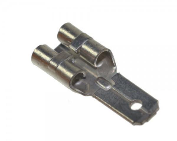 Faston-Adapter für Blei-Gel-Akkus 6,3mm auf 4,8mm Bleiakkus