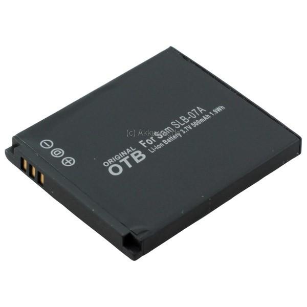 Ersatzakku für Samsung SLB-07A ST50 ES55 SLB07A