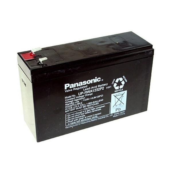 8x Panasonic UP-RWA1232P2 für RBC43 USV Anlage RBC 43