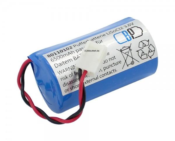 Batterie passend für Daitem BATLi01 Daitem D8000 D8101 D8102 D8105 D8106 D8200 D8620 D8621 D8900 DP