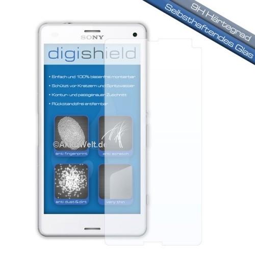 digishield Displayschutzglas für Sony Xperia Z3 Compact