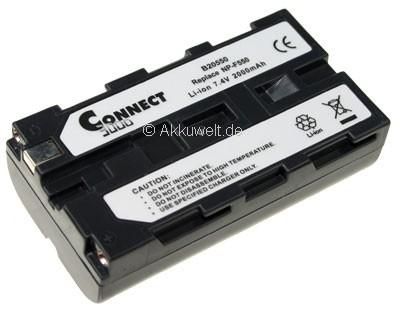 Ersatzakku für Sony NP-F550 NP-500 NP-330 NP-F570